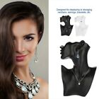 Jewelry Holder Stand Showcase Mannequin Head Necklace Earrings Display Organizer