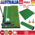 3M 1M 1.5M Golf Practice Driving Hit Net Cage Training Mat Tee Trainer Grass Pad