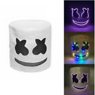 LED Mask Marshmello Helmet Cosplay Costume Halloween Party Props Bar DJ Mask RH6