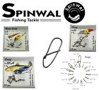 Spinwal Lure Fishing Snaps All Sizes Predator fishing Tackle Jig Head Pike Perch