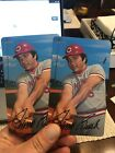 2019 Topps Heritage 1970 Topps Super Box Topper Johnny Bench #13 MT x2