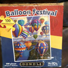 Dowdle Balloon Festival 100 Piece Jigsaw Puzzle PRE OWNED ALL PIECES ARE HERE