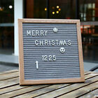 10x10 Inches Felt Letter Board Black Gray Home Restaurant Message Wooden Board