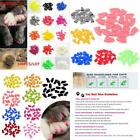 100P Large Soft Nail Caps Pet Cat Claws Covers Claw Gloves Tips Nails Cap Safety