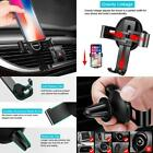 Gravity Car Phone Mount Hands Auto Lock One Handed Air Vent Cradle