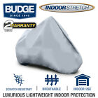 Budge Indoor Stretch Breathable Motorcycle Cover   Various Colors and Sizes