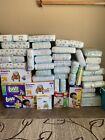 Huge Disposable Diaper Lot Huggies, Pampers, Luvs- Hundreds Of Diapers!!