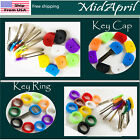 Внешний вид - Key Caps  ring Tags  Rubber Key Identifier Cover, Color Coded Key ID