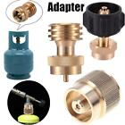 BBQ Grill Saver 1LB Propane Tank Gas Adapter Refill Cook Backup Tank Connector