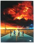 SPECIAL Finn Wolfhard Autograph 16x20 Photo Stranger Things Mike Signed JSA COA