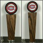 Montreal Canadiens NHL Hockey Puck Solid Oak Tap Handle $42.99 USD on eBay