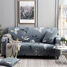 Fashion 1/2/3/4 Seater Stretch Printed Sofa Slipcover Elastic Couch Cover Decor