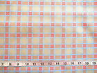 "100% Cotton ""Sentimental Hourney"" by SouthSea Imports Plaid Grey/Orange/Gold"