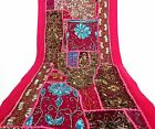 Table Linens Runner Wall Tapestry Hanging Beads Hand Embroidered Patchwork BR10