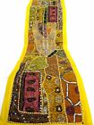 Table Linens Runner Wall Tapestry Hanging Beads Hand Embroidered Patchwork BR61