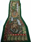 Table Linens Runner Wall Tapestry Hanging Beads Hand Embroidered Patchwork BR50