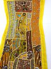Table Linens Runner Wall Tapestry Hanging Beads Hand Embroidered Patchwork BR66