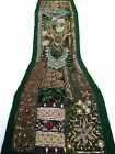 Table Linens Runner Wall Tapestry Hanging Beads Hand Embroidered Patchwork BR55