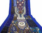 Table Linens Runner Wall Tapestry Hanging Beads Hand Embroidered Patchwork BR22