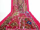 Table Linens Runner Wall Tapestry Hanging Beads Hand Embroidered Patchwork BR08