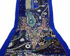 Table Linens Runner Wall Tapestry Hanging Beads Hand Embroidered Patchwork BR21