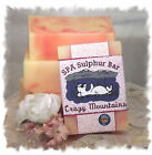 Jamacia Me Crazy_Crazy Mtn_ SPA Sulphur Soaps Made in Montana Handmade Homemade