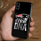 NEW ENGLAND PATRIOTS DNA iPhone 6/6S 7 8 Plus X/XS Max XR Case Cover