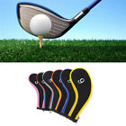 10pcs /Set Golf Iron Headcover Golf Club Cover Sleeve Protective Case 6 Color