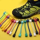No Tie Elastic Shoelaces Lock Lace System Lock Running Kid Adult Shoe Laces hot
