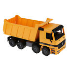 Kids Toy Recovery Vehicle Dumper Truck Construction Tipper Car Gift Yellow