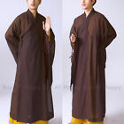 Buddhist Meditation Haiqing Robe Long Kung Fu Gown Shaolin Monk Suit Robe Hkm15