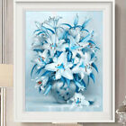 DIY 5D Lily Tulip Flower Diamond Painting Cross Stitch Square Drill Home Decor G