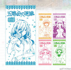 Anime Go-Toubun No Hanayome Mini Cute Compressed Travel Towel Washcloths Gifts