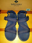 $85 NEW Mens 12 Sperry Top-Sider Big Eddy Water Sandals NAVY Blue