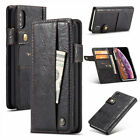 For iPhone X XR XS Max Multifunction Leather Flip Wallet Card Slot Case Cover