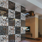 4/8/12Pcs Room Divider Partition Hanging Screen Wall Decals DIY Home Decor 15""