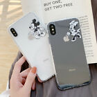 3D Phone Cases Mickey Minnie Couple TPU Cover For iPhone X XS Max XR 6s 8 7 Plus