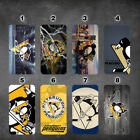wallet case Pittsburgh Penguins iphone 7 iphone 6 6+ 5 7 X XR XS MAX case $17.99 USD on eBay
