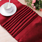 25 Color Elegant Satin Table Runner For Home Party Wedding Christmas Decoration