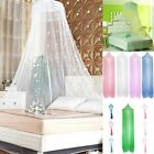 Round Elegant Lace Protect Mosquito Netting Mesh Canopy Princess Dome Bed Net US image