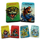 Ed Hardy Oil Lighter Tattoo Design Flip-Top Flint Refillable your choice one