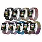 Stainless Steel Magnetic Milanese Loop Band Strap For Apple Watch Series 4 3 2 1 image