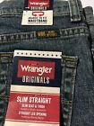 Wranger Boys Jeans Slim Straight Adj Waistband Hazy Meadow Reg  Husky NWT Flex