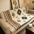 Tribal ethnic Blanket Bed Home Bedroom Sofa Couch Cover Throws Rugs Art Decor