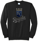 Women's Kansas City Royals Ladies Bling Shirt Sweatshirt Sweat (Size S-XL) on Ebay