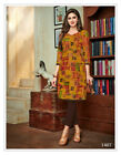 New Ladies Printed Cotton Kurti Tops (READYMADE) Occasional Wear Trendy Women's