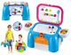 New Learning Desk Playset Blue Chair Toys Stool Folding Kids Activities