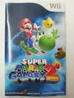 Original NINTENDO Wii Instruction Booklets MANUALS ONLY (no game)