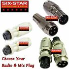 MIC ADAPTER CONVERTS ANY COBRA WIRED MIC TO MOST CB  10 METER RADIOS SEE MENU