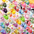 100X Wholesale Mixed Lots Kids Resin Lucite Rings Cartoon Children Ring Jewelry image